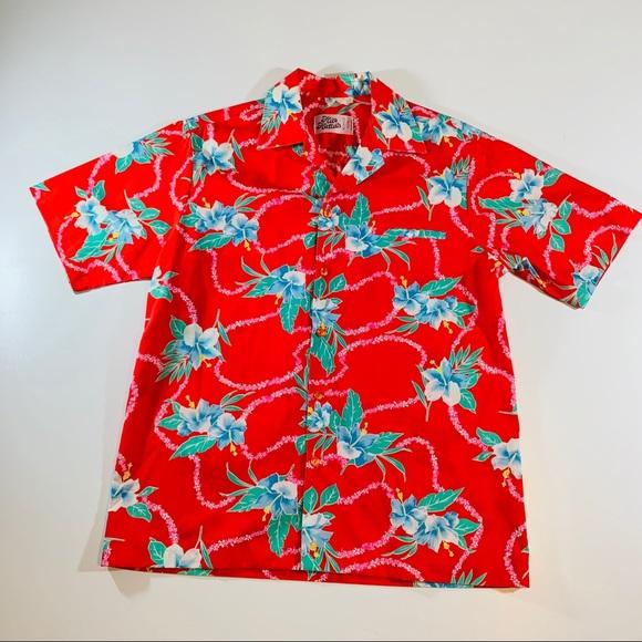 686bf50748a3 Halo Hatties Other - 🌈 Hilo Hattie Rare Vintage Hawaiian Shirt Men A25